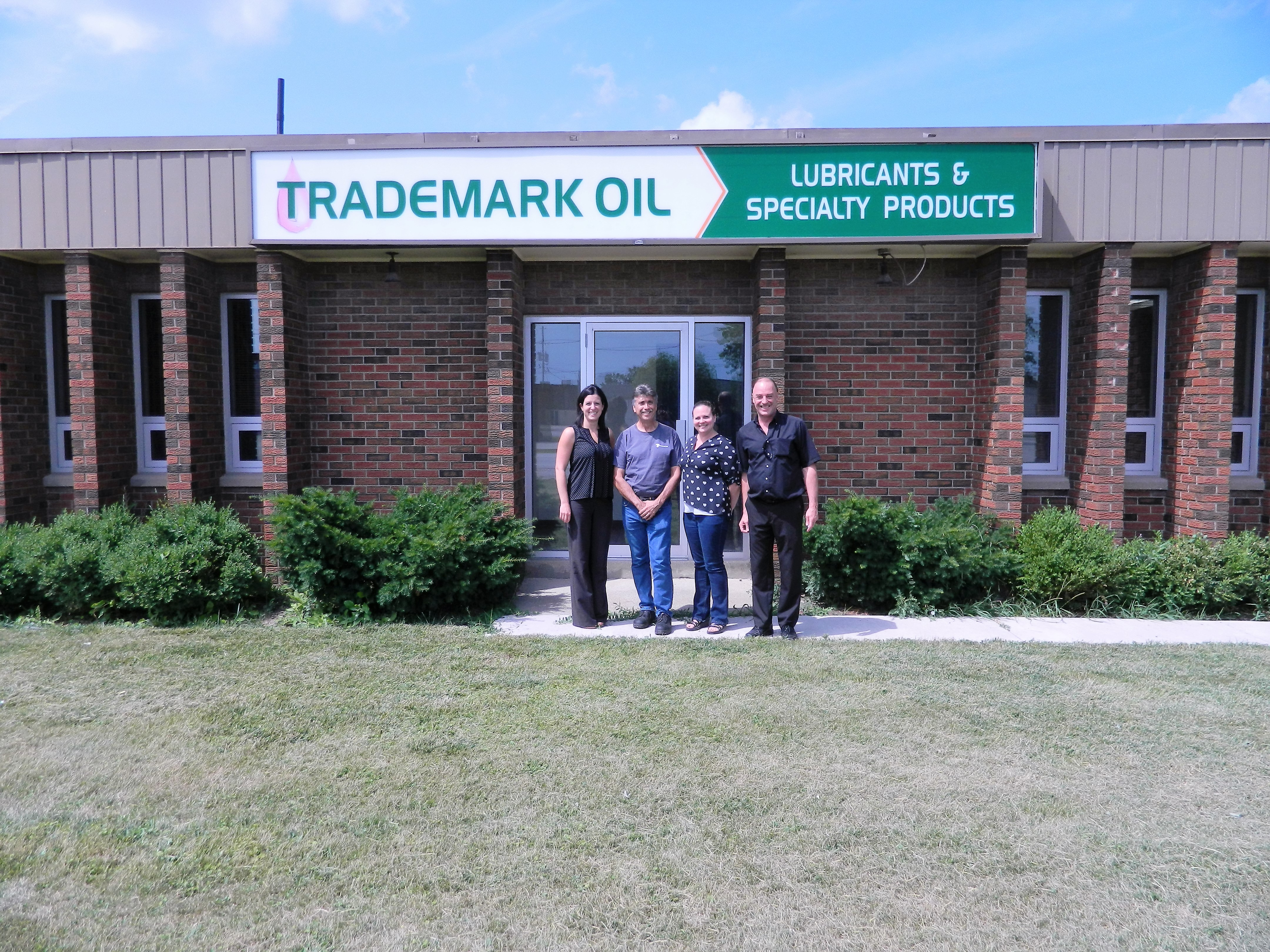 CREVIER GROUP ACQUIRES TRADEMARK OIL   Crevier Group